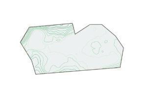 landscape contour map