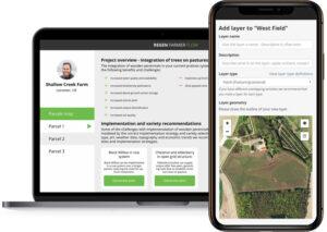 regenerative agriculture and agroforestry management app