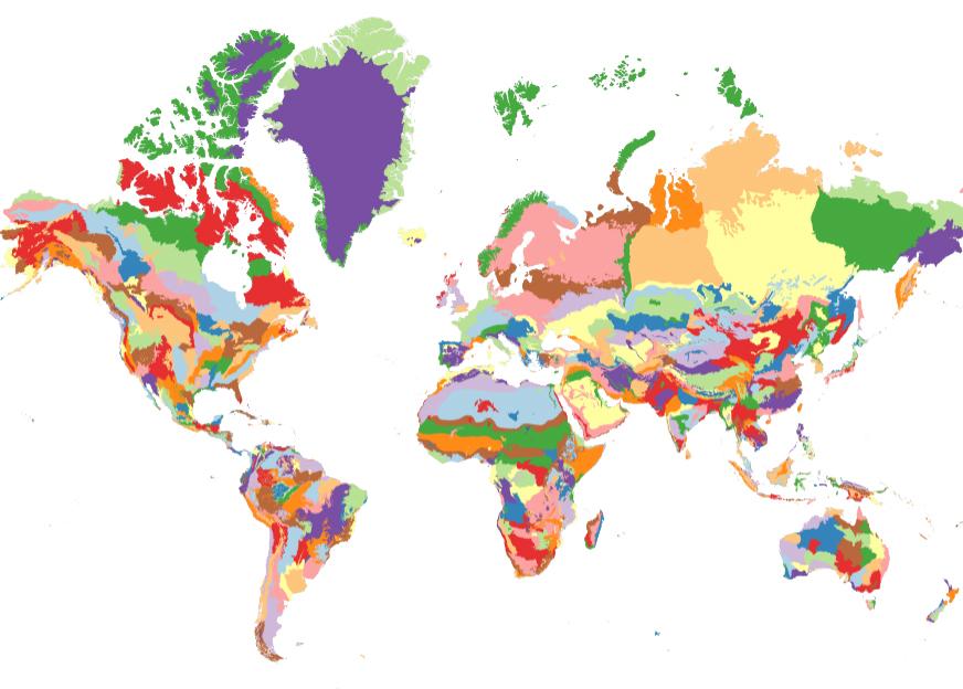 agroforestry ecoregions bioregions